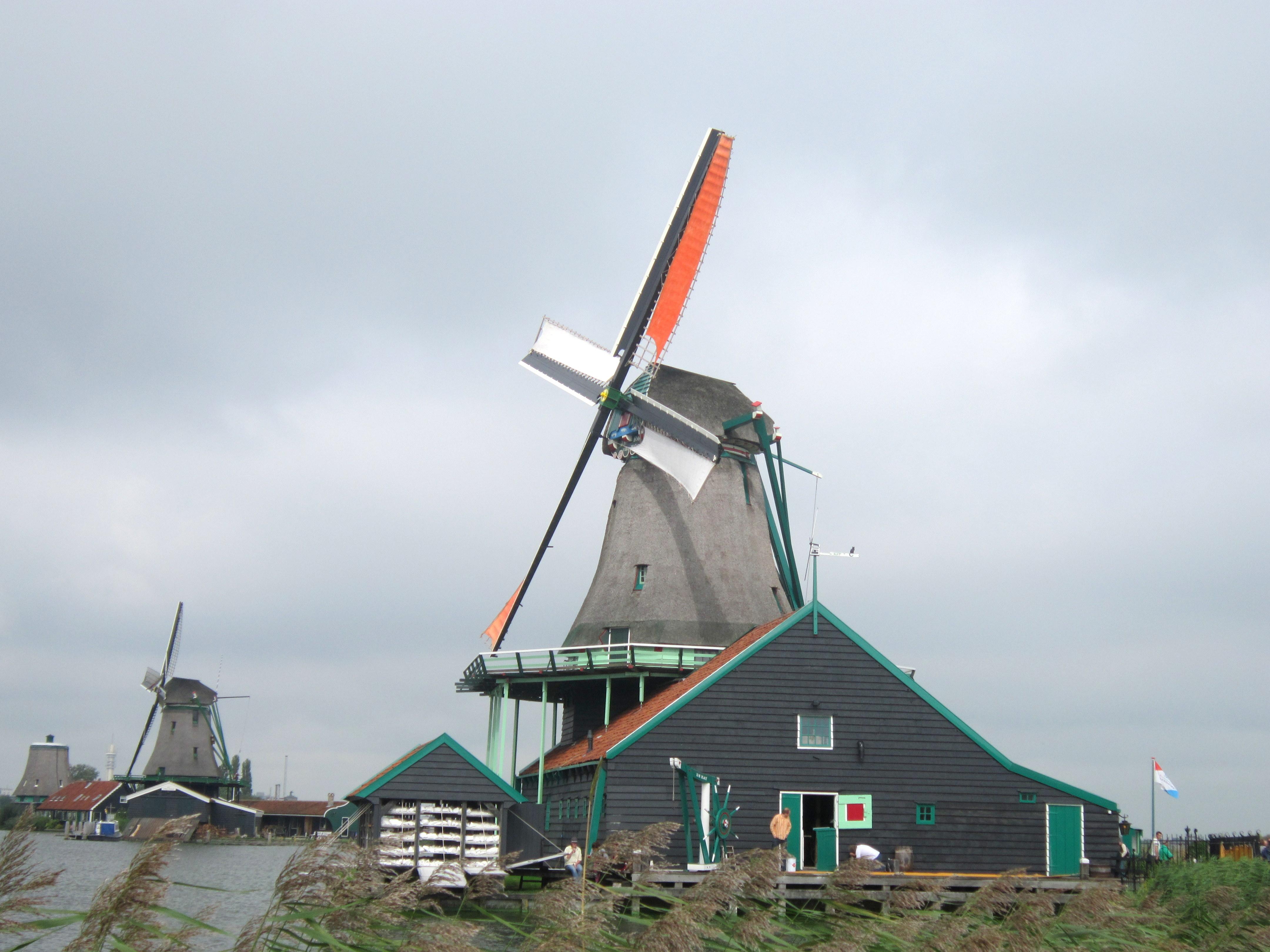 Picturesque little town Zaanse Schans