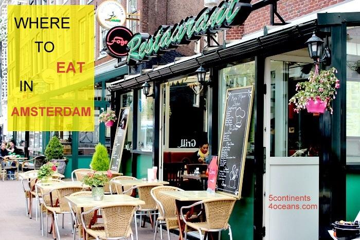 Review 1 số nhà hàng siêu ngon ở Amsterdam