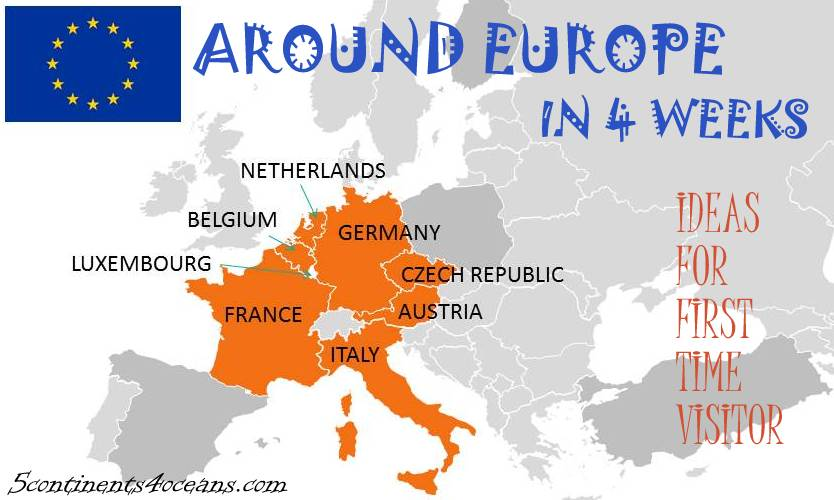 Lịch trình 1 tháng du hý Châu Âu