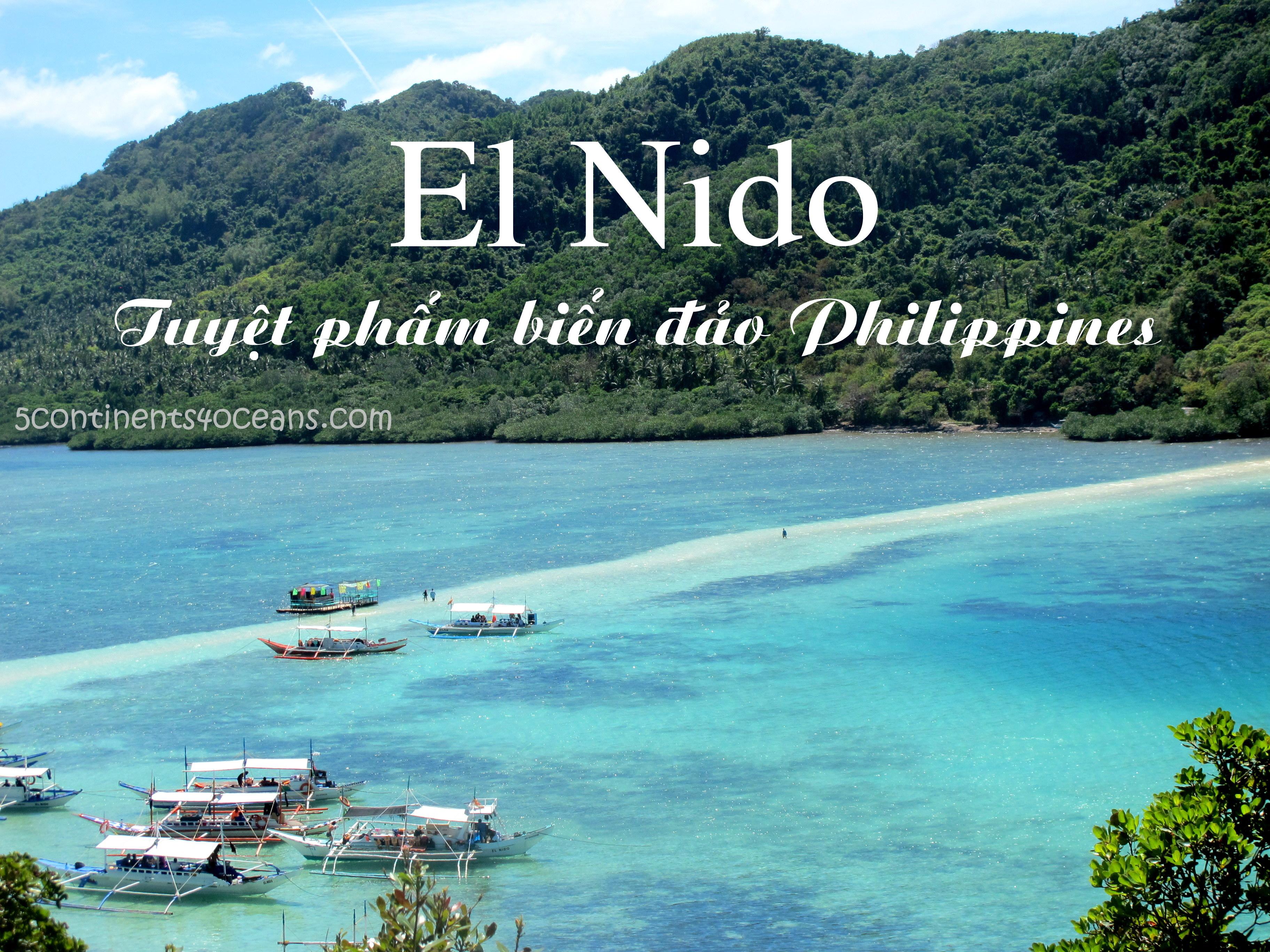 El Nido – Tuyệt phẩm biển đảo Philippines