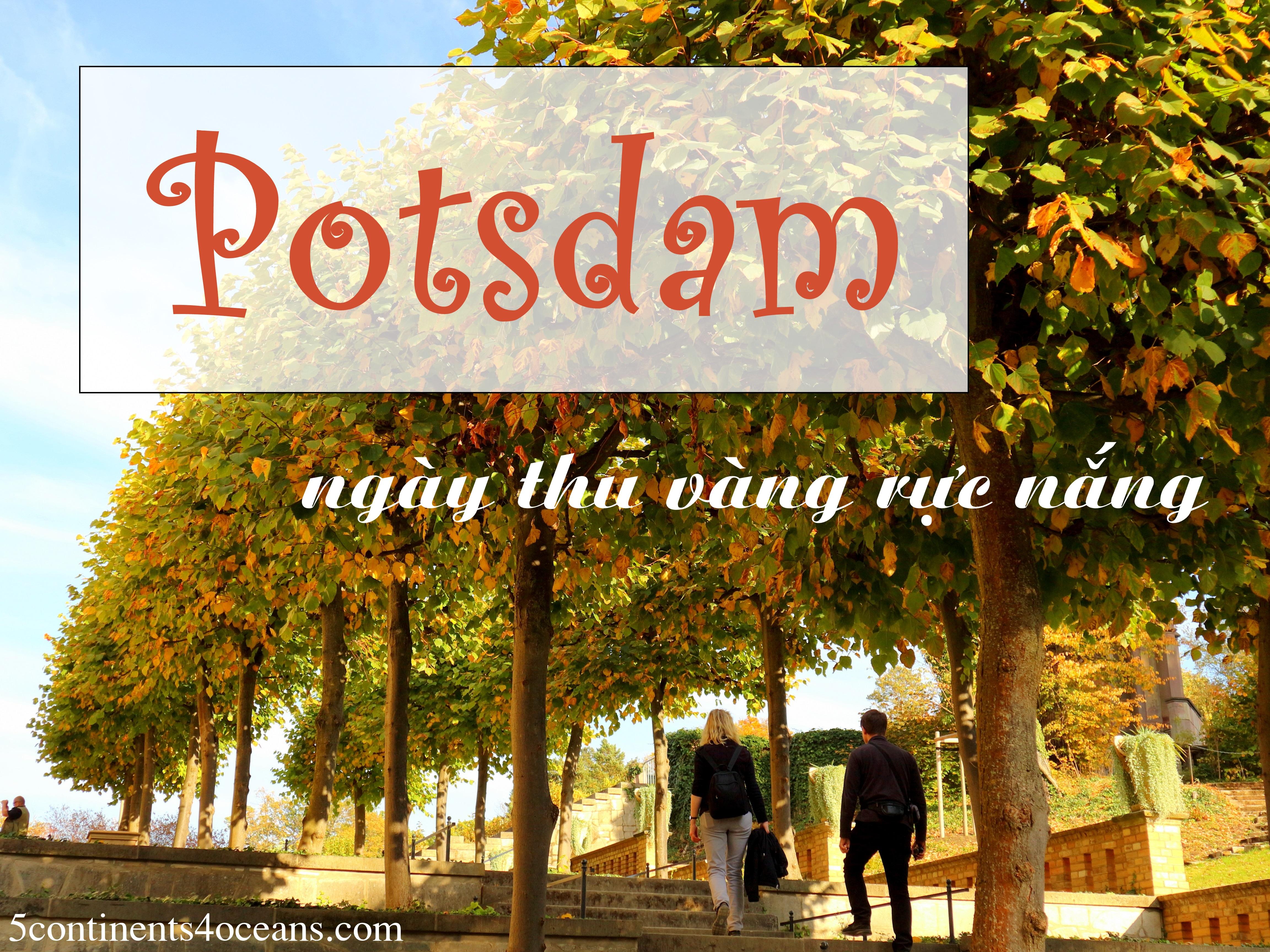 Potsdam – Ngày thu vàng rực nắng