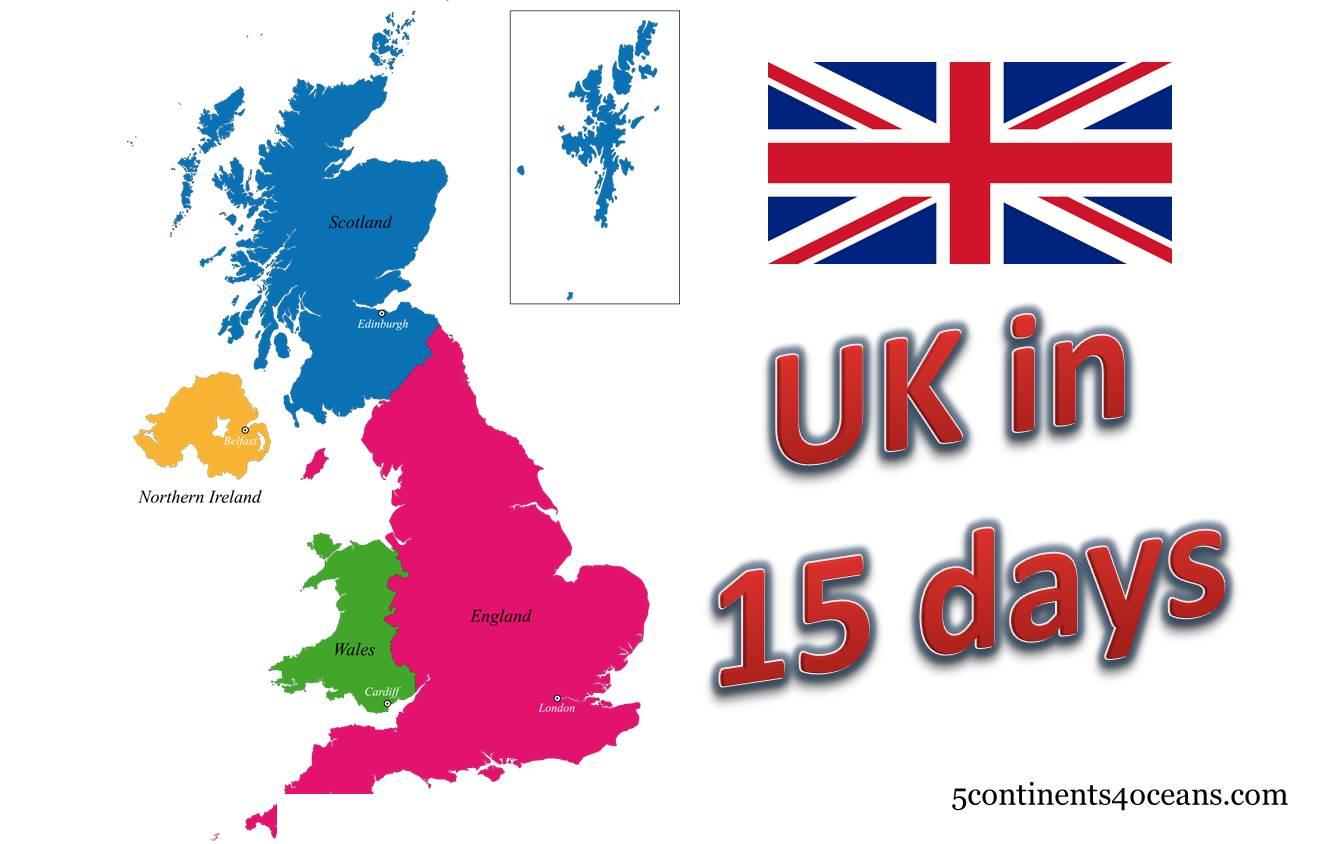 Travel idea – UK in 15 days